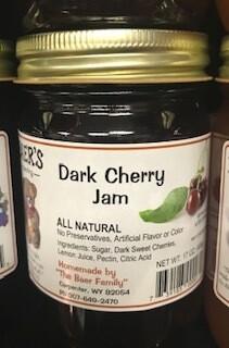 Baer Dark Cherry Jam