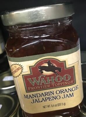 Wahoo Mandarin Orange Jalapeno Jam