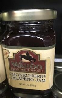 Wahoo Chokecherry Jalapeno Jam