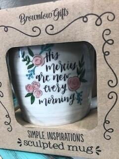 Drinkware/inspirational mug/mercies