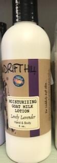 Windrift Hill/goats milk lotion/lovely lavender