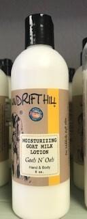 Windrift Hill/goats milk lotion/goats n oats scent