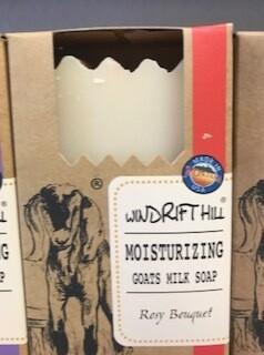Windrift Hill/ goats milk soap/rosy boutique