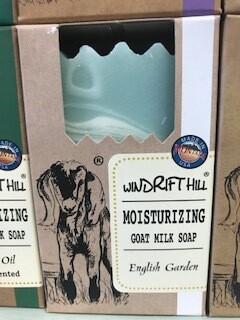 Windrift Hill/ goats milk soap/English garden