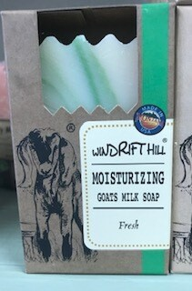 Windrift Hill/goats milk soap/fresh