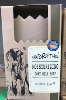 Windrift Hill/goats milk soap/Mother Earth