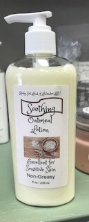 Land of Lavender/8 oz. soothing oatmeal lotion