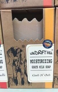 Windrift Hill/goats milk soap/goats n oats