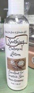 Land of Lavender/4 oz. smoothing oatmeal lotion