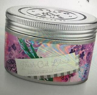 Tried & True Tin candle/Fresh Cut Lilac