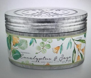 Tried & True/ 14oz. Eucalyptus & Sage candle