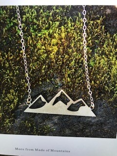 Jewelry/Made of Mountain/Mountain Range/Gold