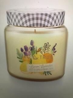 Tried & True/ 15 oz. Lemon & Lavender candle
