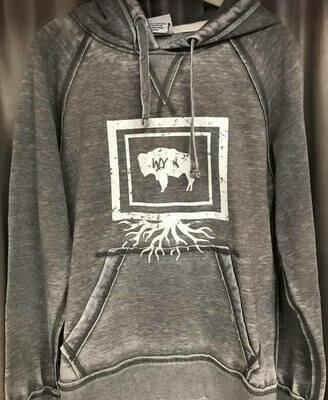 Wyoming Roots hoodie sz. SM-XXXL