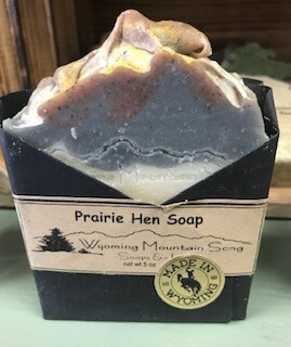 Wyoming Mountain Song Soap/Prarie Hen