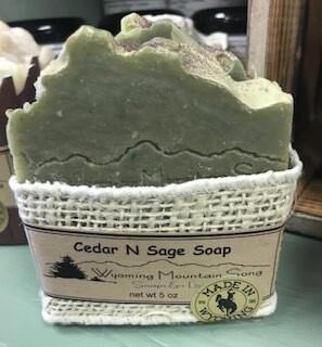 Wyoming Mountain Song Soap/ Cedar n Sage