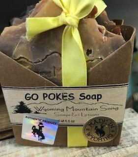 Wyoming Mountain Song Soap/Go Poke