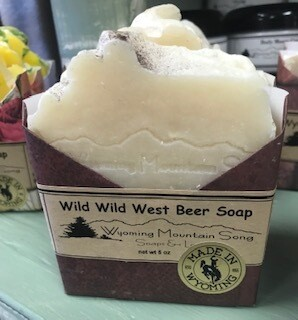 Wyoming Mountain Song Soap/Wild Wild West Beer