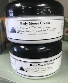 Wyoming Mountain Song/ Body Moose Cream/but naked (no scent)/amazing grace & eucalyptus spearmint