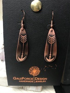 Earring/Hand crafted/Colorado Artist