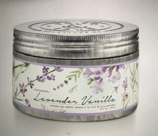 Tried & True/candle/ Lavender Vanilla Tin/14oz.