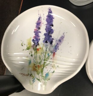 Home decor/Lavender spoon rest