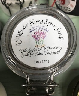 Land of Lavender/Wildflower Honey Sugar Scrub/8 oz.