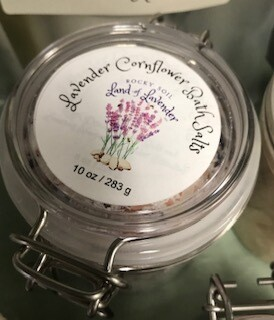 Land of Lavender/Lavender cornflower bath salts