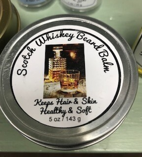 Land of Lavender/Scotch Whiskey Beard Balm/5 oz.