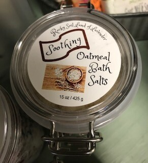 Land of Lavender/Wyo Made Oatmeal Bath Salts