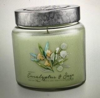 Tried & True/ 15 oz. Eucalyptus Sage candle
