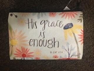 zipper pouch/vinyl/His Grace