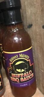 Johnny Midnite/Regular BBQ sauce/made in Wyoming