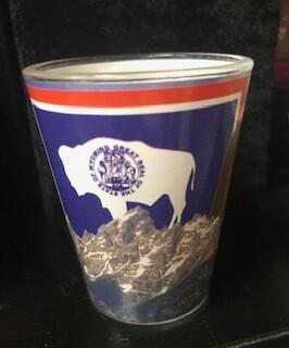 Drinkware/Wyoming shot glass