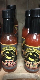Johnny Midnite/Hot sauce/made in Wyoming/XXX flavor