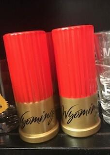 Drinkware/Wyoming Bullet Shot Glasses