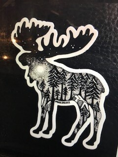 Moose Decal/Sticker