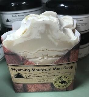 Wyoming Mountain Song Soap/ Wyoming Mountain Man  Made in Wyoming