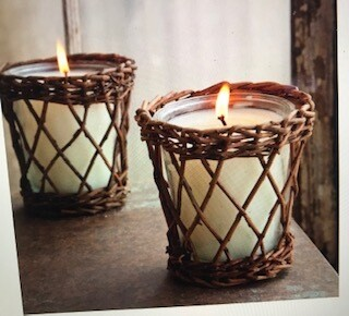 Candle/Park Hill/Burlap & Barnwood Willow/14 oz.