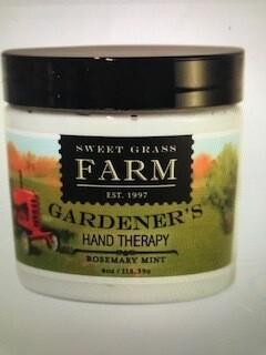 Sweet Grass Farm/Gardeners Hand Therapy
