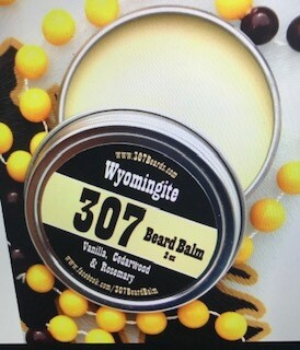 307 Beards Beard Balm in Cowboy/Made in Wyoming