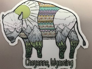 Stickers/Cheyenne, Wyo