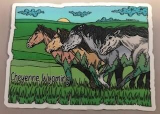 Sticker/Cheyenne, Wyo