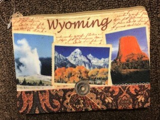 Zipper Pouch/Wyoming Scenes