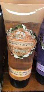 Somerset Toiletry orange blossom body wash