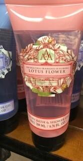 Somerset Toiletry lotus flower body wash