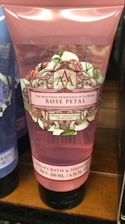 Somerset Toiletry rose petal body wash