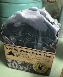 Wyoming Mountain Song Soap/ Winter Storm