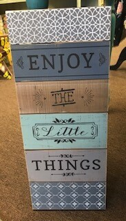 Home Decor/Wall Art/Enjoy the Little Things