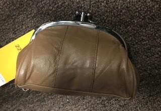 coin purse/brown